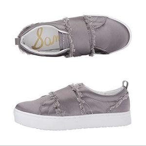 Sam Edelman || NEW Levine Satin Slip On Sneaker
